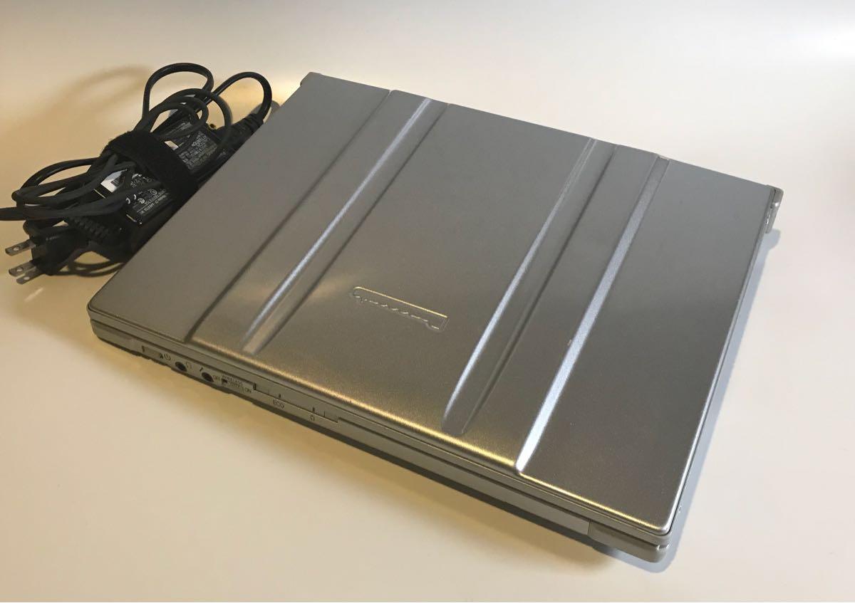 【ジャンク品】Panasonic Let'sNote CF-T7レッツノート HDD無し【通電確認済】