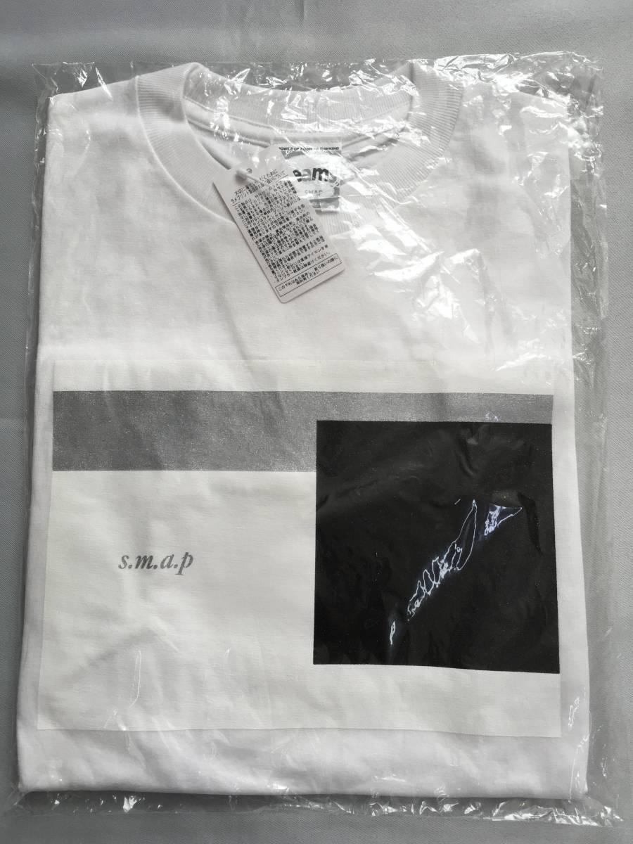 新品 スマップ SMAP ビームス Beams コラボ 子供 キッズ Tシャツ 130~140位 コンサート ツアー 白 貴重