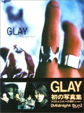 ★即決 希少 書籍★ 【Midnight Sun―GLAY写真集】 GLAY/グレイ 【豪華写真集】