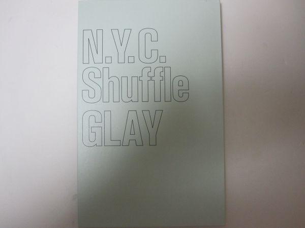 ★即決 希少 書籍★ 【N.Y.C.Shuffle―GLAY写真集】 GLAY/グレイ 【豪華写真集】