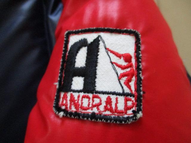 フランス製 ビンテージ アノラルプ ダウンジャケット ANORALP 1970's-1980's made in france マウンテンジャケット アウトドア モンクレー_画像4
