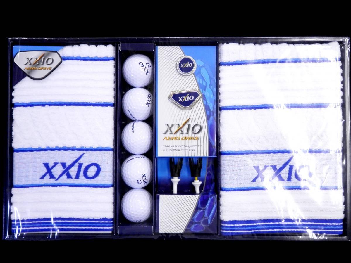 ゴルフ XXIO AERO DRIVE ボール タオル 他 セット 未使用_画像2