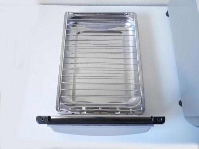 売切り!美品!2017年製 リンナイガステーブル LPガス 右強火力 水無し片面焼き Siセンサー ホース付き ガスコンロ KGM33NBER AG651_画像6