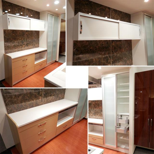 展示品 タカラスタンダート システムキッチン アイランド型 天板一体型シンク キッチンキャビネットセット! 最高品質_画像8