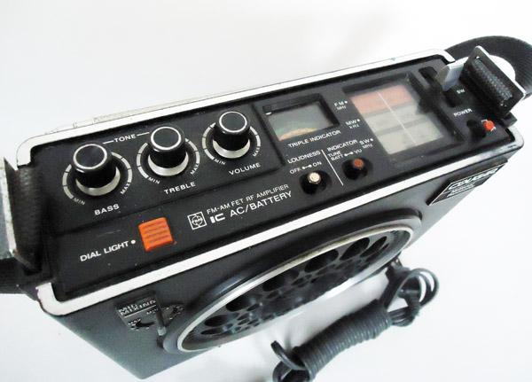 ■中古■70年代 3バンドラジオ ナショナル COUGAR RF-888 NATIONAL_画像3
