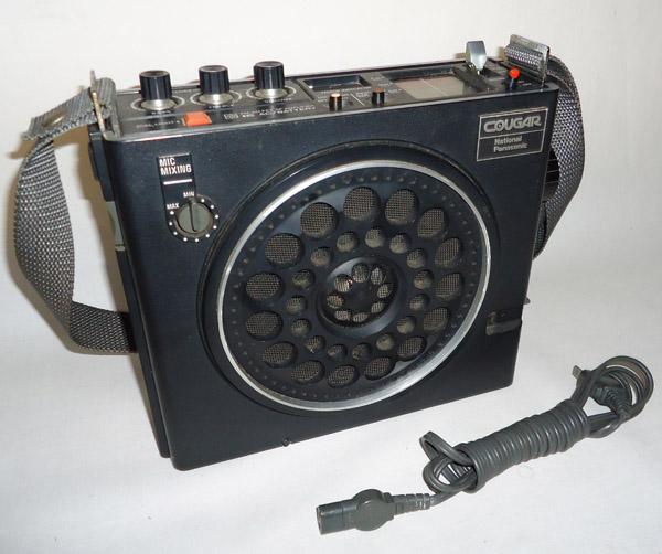 ■中古■70年代 3バンドラジオ ナショナル COUGAR RF-888 NATIONAL