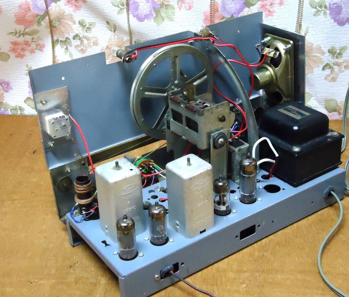5球スーパー再生品ラジオです。_画像6