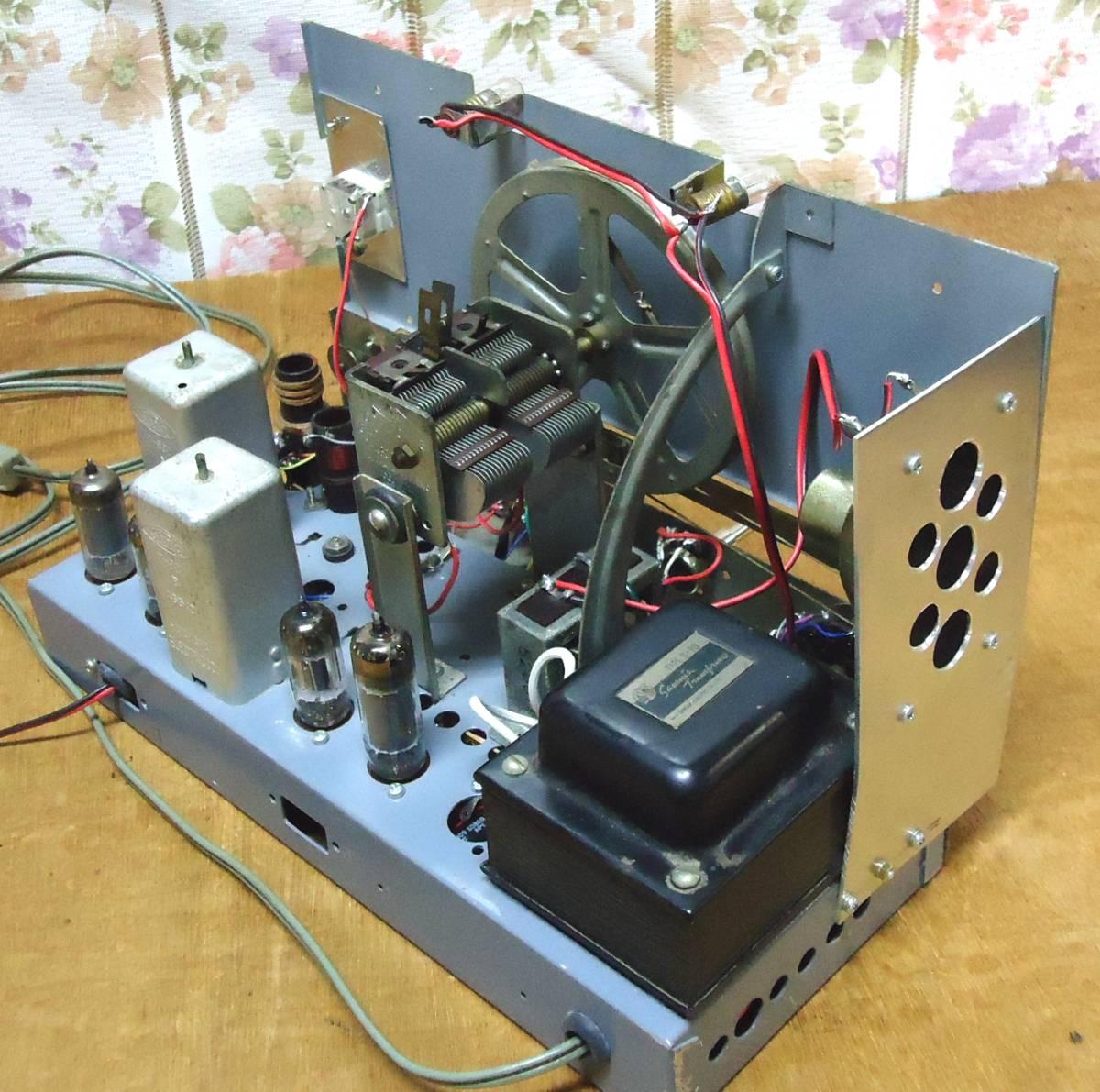 5球スーパー再生品ラジオです。_画像7
