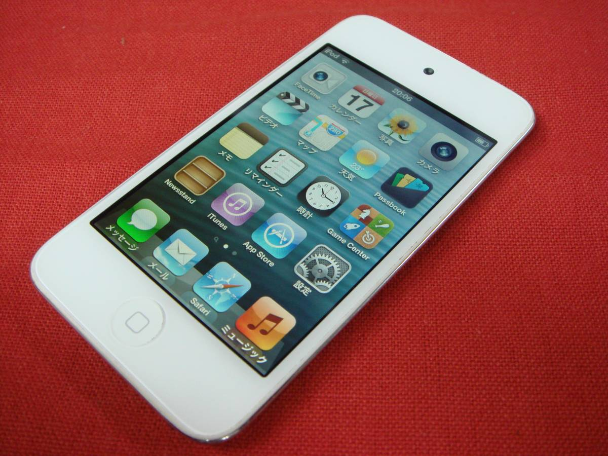iPod touch 16GB 第4世代 A1367 画面キズなし 中古品 即決