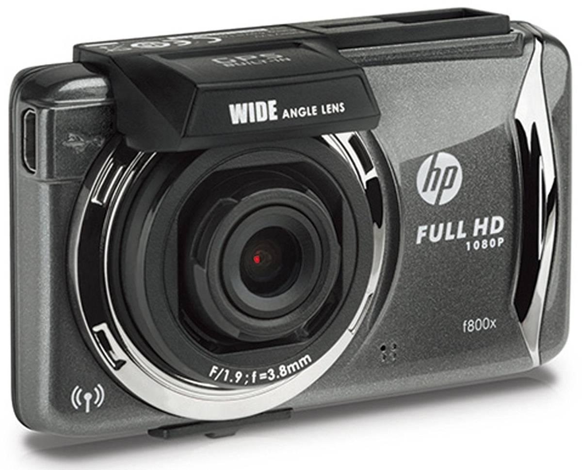 新品未開封・HP フルHDドライブレコーダータッチパネル操作 F800X /スマホで操作・ 2.7インチ・GPS搭載・広角140°