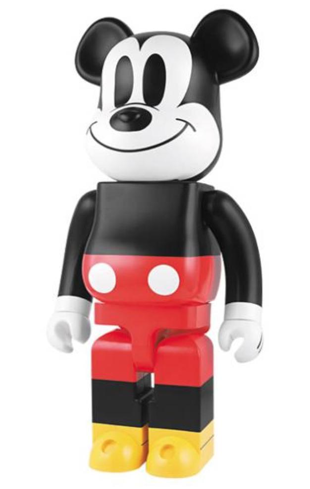 BE@RBRICK ベアブリック 1000% ミッキーマウス 新品 シリアルナンバー 4 激レア 初期 初代 最希少! _画像3