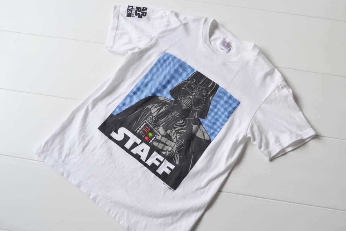 BEAMS ビームス FUJI ROCK FESTIVAL '15 フジロック スタッフ専用Tシャツ M スタッフT Tシャツ スターウォーズ ダースベイダー
