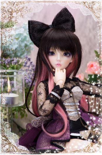 【人気!】 球体関節人形 BJD 本体+眼球付 可愛い 美少女 ボディ パーツ カスタマイズ 1/4 41cm 創作人形 人形製作 海外 新品_画像2