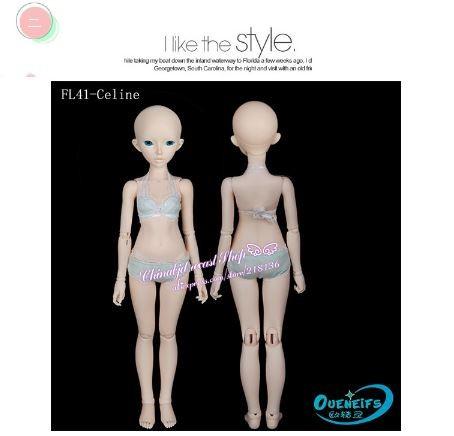 【人気!】 球体関節人形 BJD 本体+眼球付 可愛い 美少女 ボディ パーツ カスタマイズ 1/4 41cm 創作人形 人形製作 海外 新品_画像7
