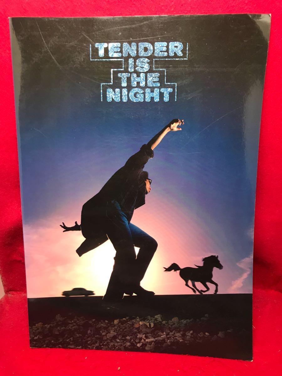 ○浜田省吾 SHOGO HAMADA ON THE ROAD 1996 CONCERT TOUR TENDER IS THE NIGHT パンフレット