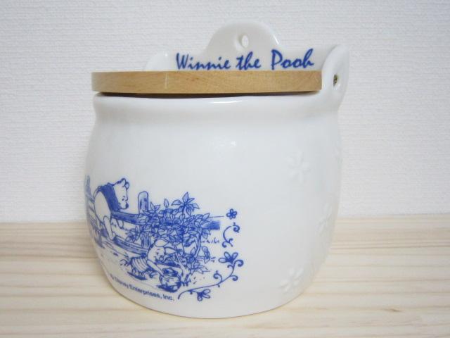 くまのプーさん カントリーポット 陶器製 1999年 ディズニー レトロ ①_画像3