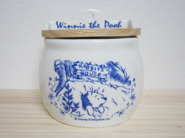 くまのプーさん カントリーポット 陶器製 1999年 ディズニー レトロ ③_画像2