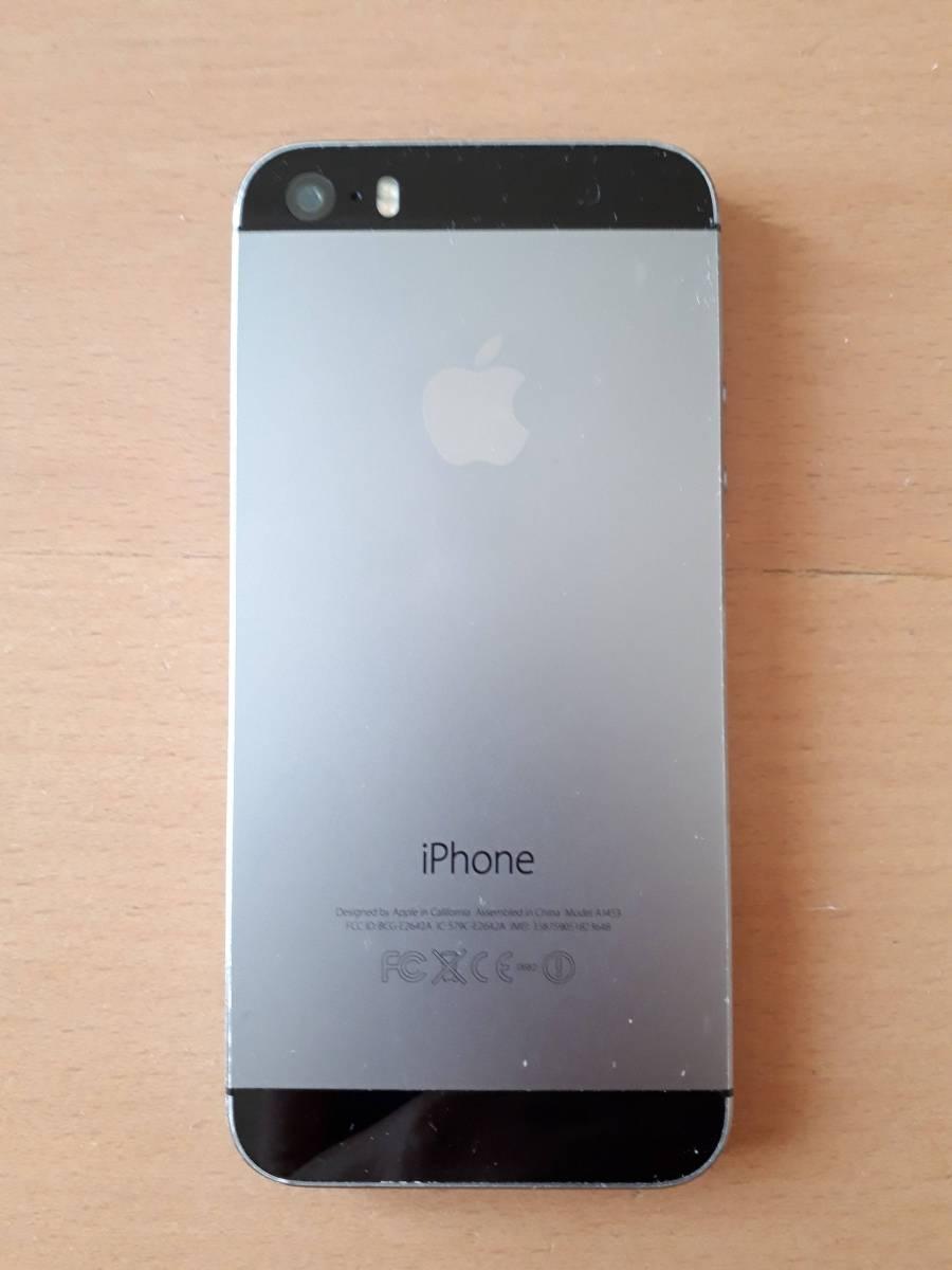 【ジャンク】iphone 5s 32GB docomo_画像2