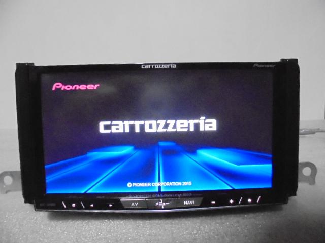 カロッツェリア サイバー HDDナビ AVIC-ZH0009HUD  地図2015年 良品