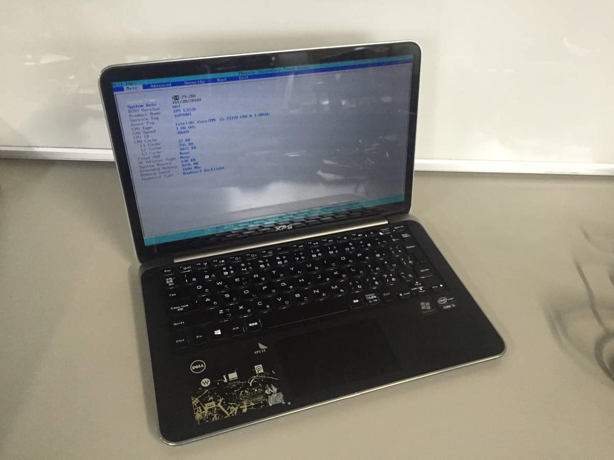 7cbd1c738c DELL XPS 13-L322X /i5-3337U 1.80Ghz /4GB/WIN7 Pro