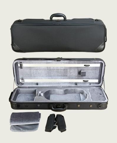 送料無料! 鈴木バイオリン バイオリンケース ブランケット 弦パイプ ベルト2本付き 2.2Kg Vo-6