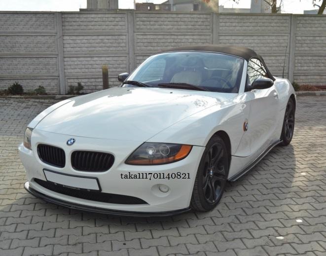 BMW Z4 E85 E86 前期 フロント リップ スポイラー / バンパー スプリッター アンダー ディフューザー カバー カナード エアロ_画像1