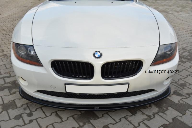 BMW Z4 E85 E86 前期 フロント リップ スポイラー / バンパー スプリッター アンダー ディフューザー カバー カナード エアロ_画像2