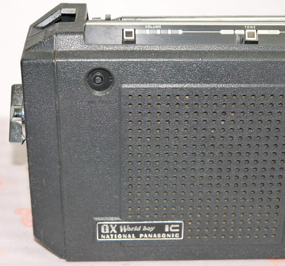 National Panasonic ワールドボーイ GX RF-858 ジャンク(4)_画像9