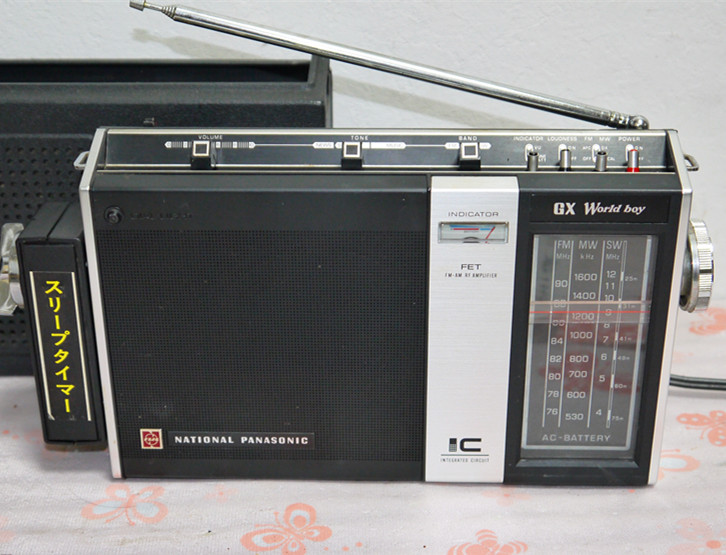 National Panasonic ワールドボーイ GX RF-858 ジャンク(4)_画像4