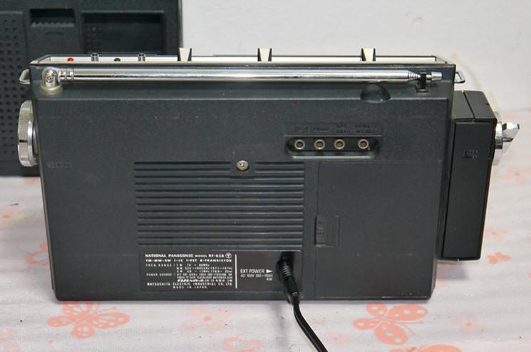 National Panasonic ワールドボーイ GX RF-858 ジャンク(4)_画像8