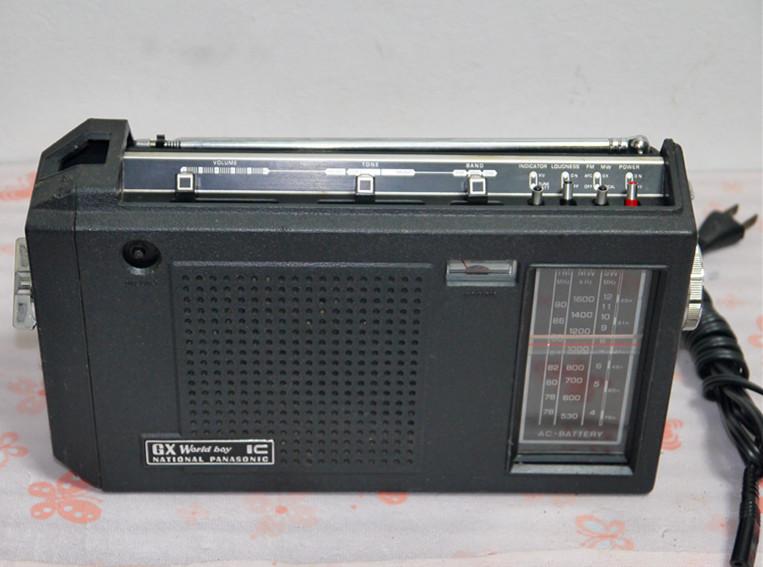 National Panasonic ワールドボーイ GX RF-858 ジャンク(4)_画像2