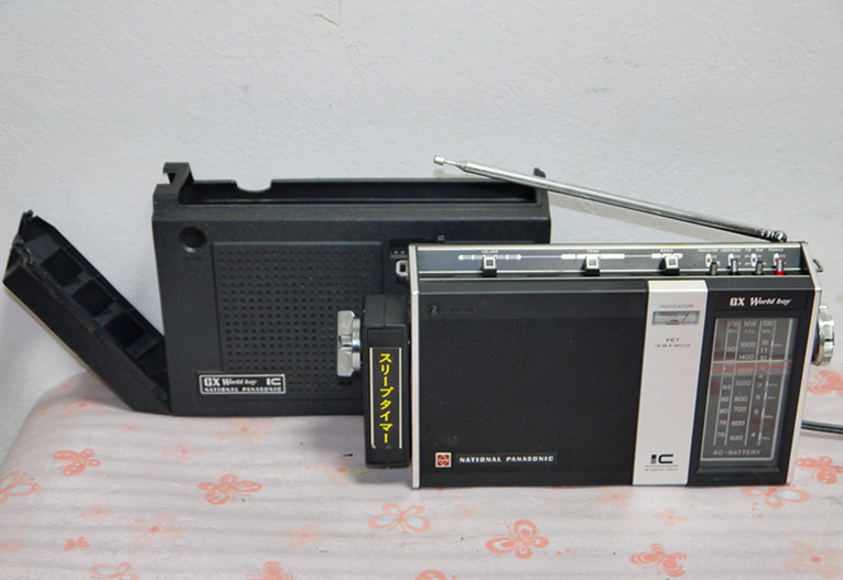 National Panasonic ワールドボーイ GX RF-858 ジャンク(4)