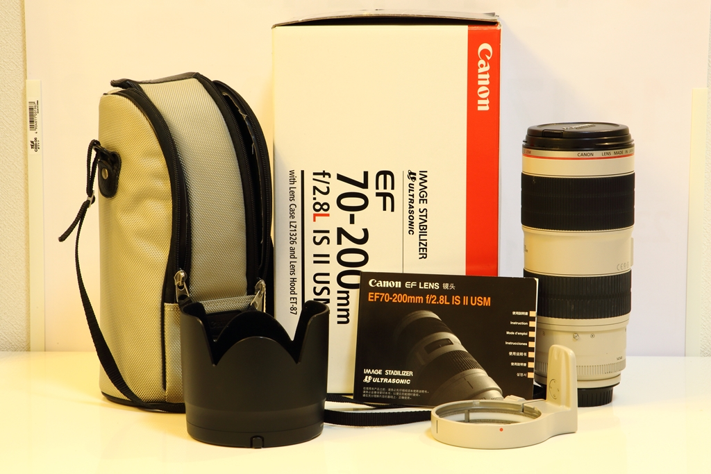 【送料込・中古美品】CANON EF70-200mm f2.8L IS Ⅱ USM