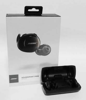 新製品 新品未開封、BOSE SOUNDSPORT FREE WIRELESS ★Bluetooth 防水 付属ケースで2回充電も出来る。音質はこの上ないサウンド。色は黒