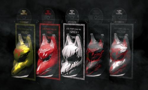 【超激レア・未開封】 マスク BABYMETAL ベビーメタル The Chosen 500(限定500個) 5大キツネ祭り in JAPAN DVD べビメタ FOX MASK付き