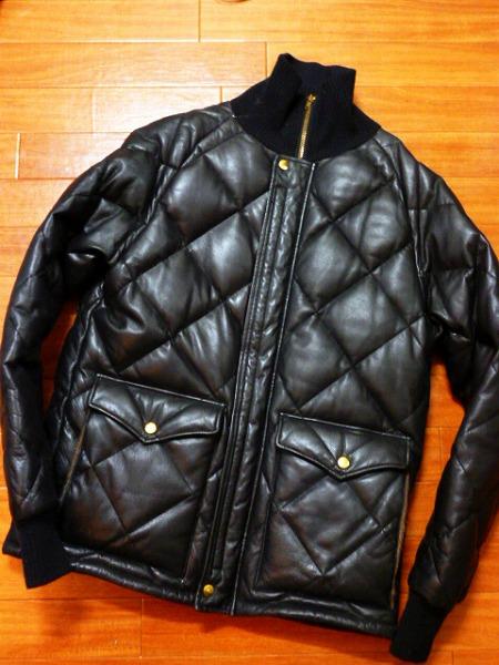 WESTRIDE ウエストライド レーシングダウン ジャケット ホースハイド 馬革 アルパカ ホース 初期 美品 WEST RIDE