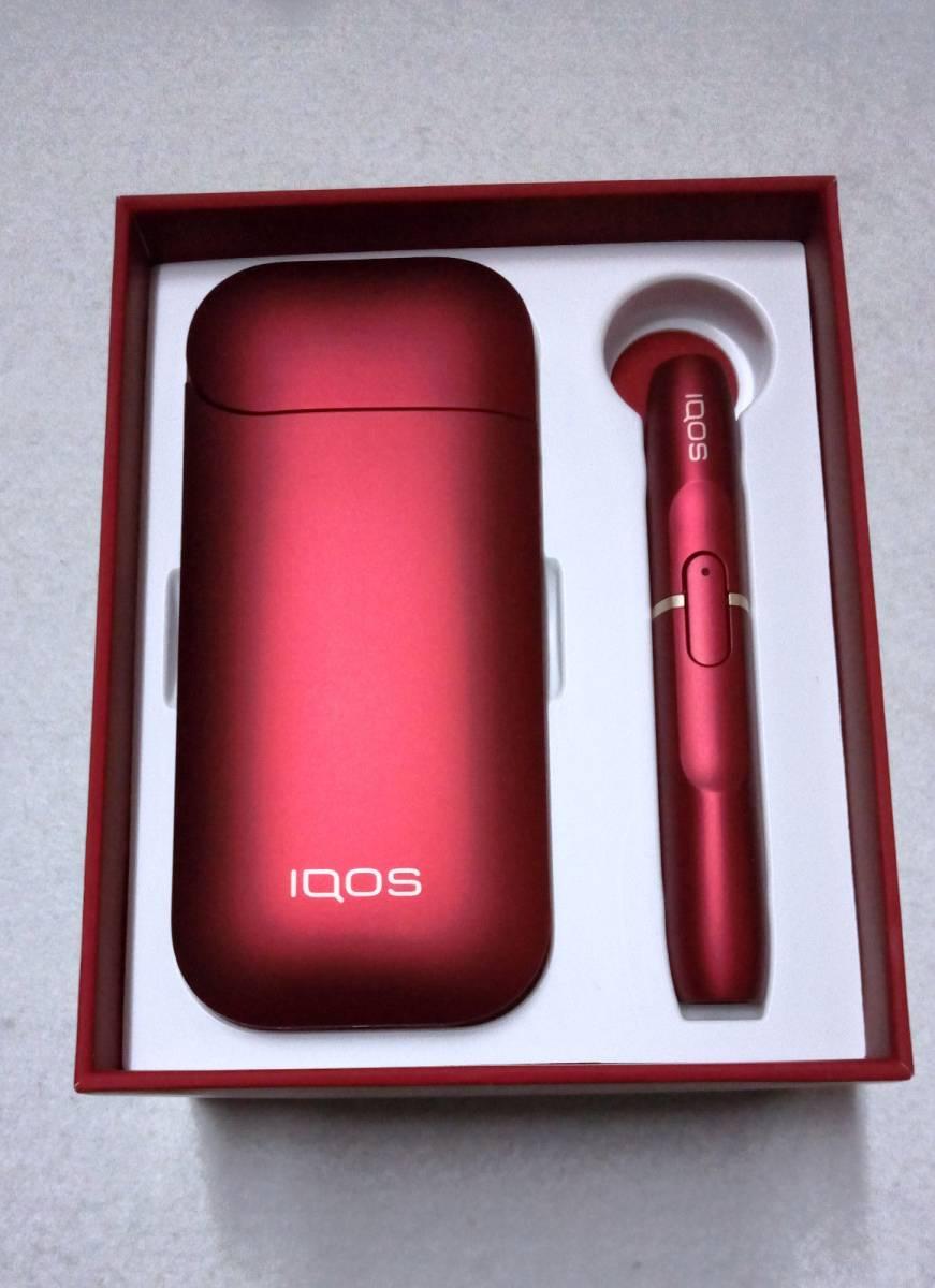 ★超希少 限定1つ★ プレミア 限定 iQOS アイコス ボルドーレッド キット 赤 本体 RED Limited Edition 2.4Plusに対応可