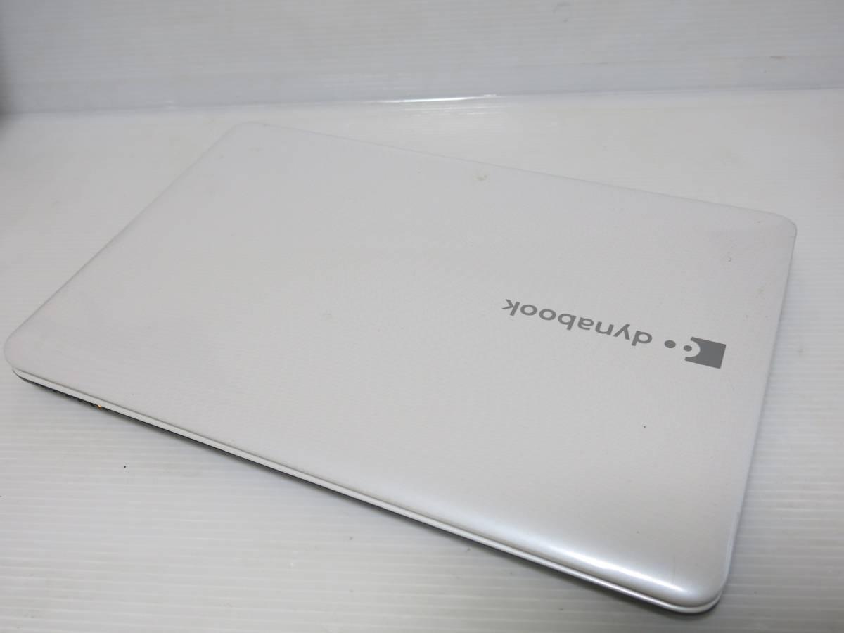 Dynabook T350/56BW 640GB/4GB ブルーレイ オフィス WinDVD Pro11 Windows10_画像4