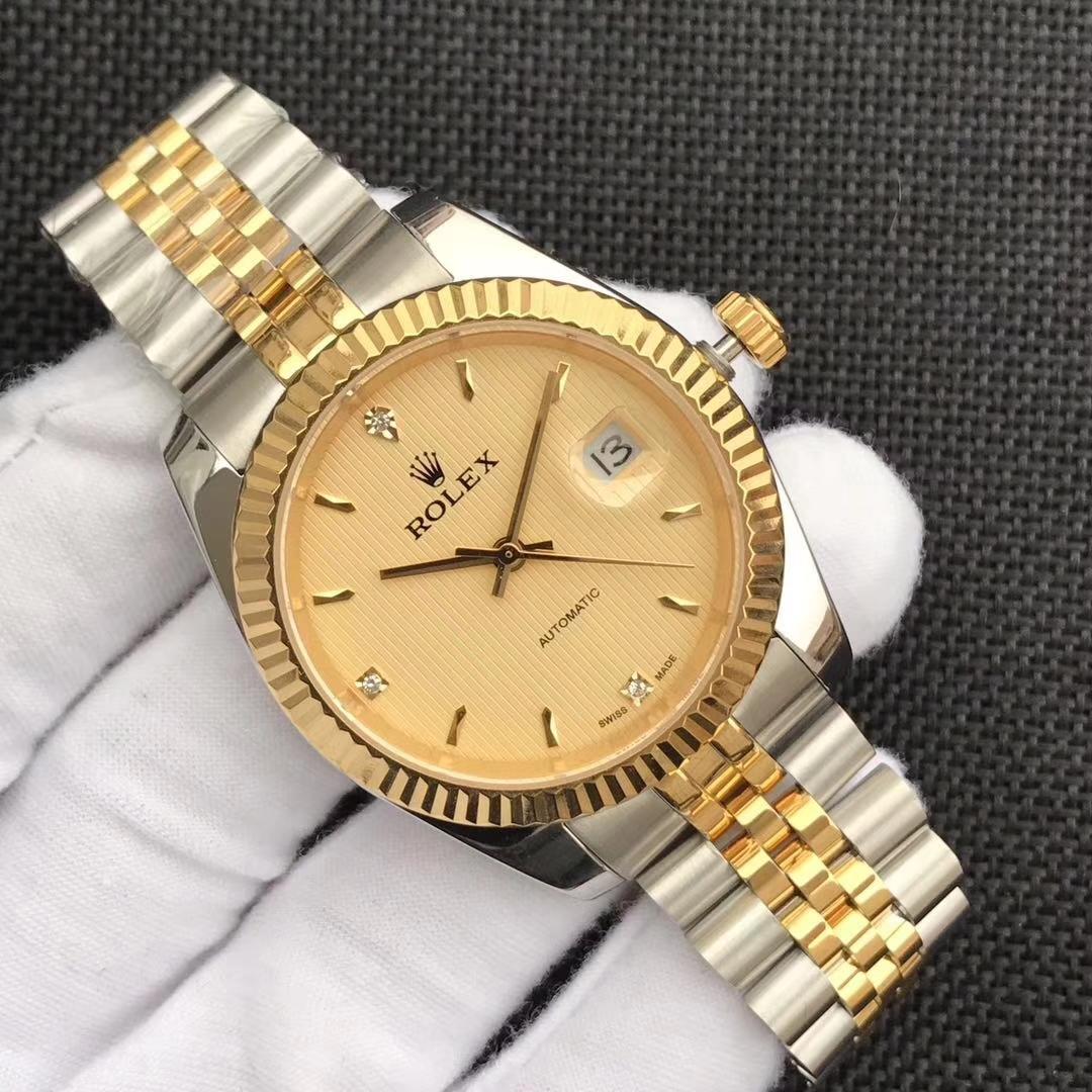 1円から~ 男性用 高級感 機械式自動巻き 腕時計 送料無料