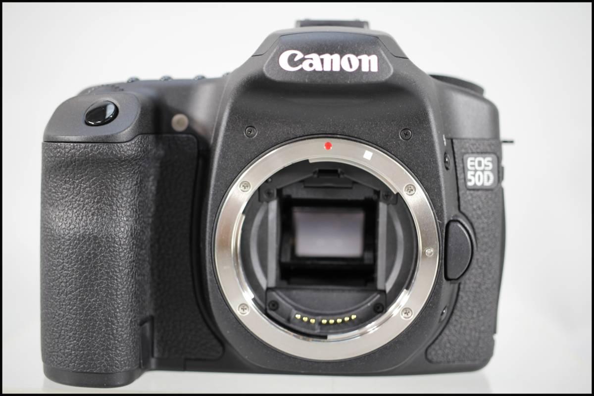 □Canon/キャノン キャノン CANON EOS 50D ボディ カップラー+ACアダプター付