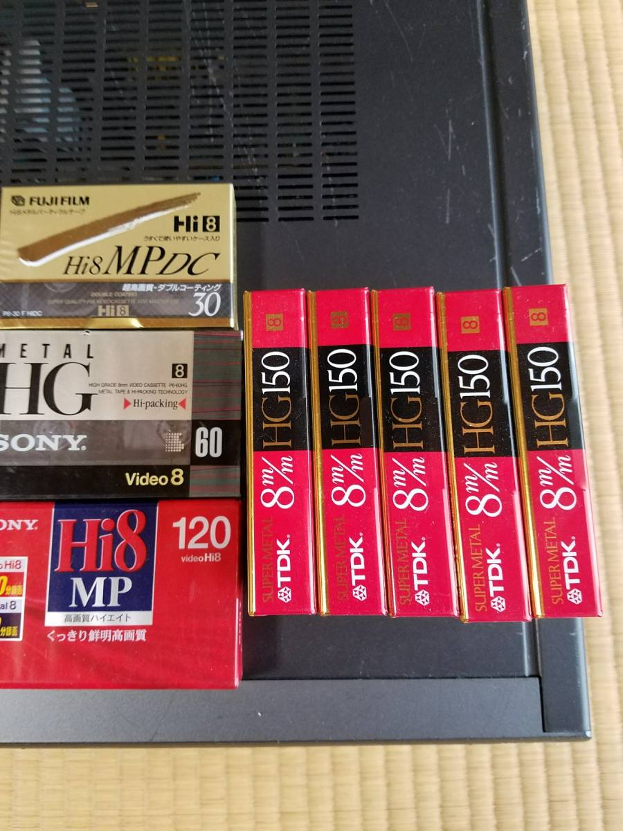 SONY ビデオカセットレコーダー WV-H4 Hi8/VHS ジャンク_画像6
