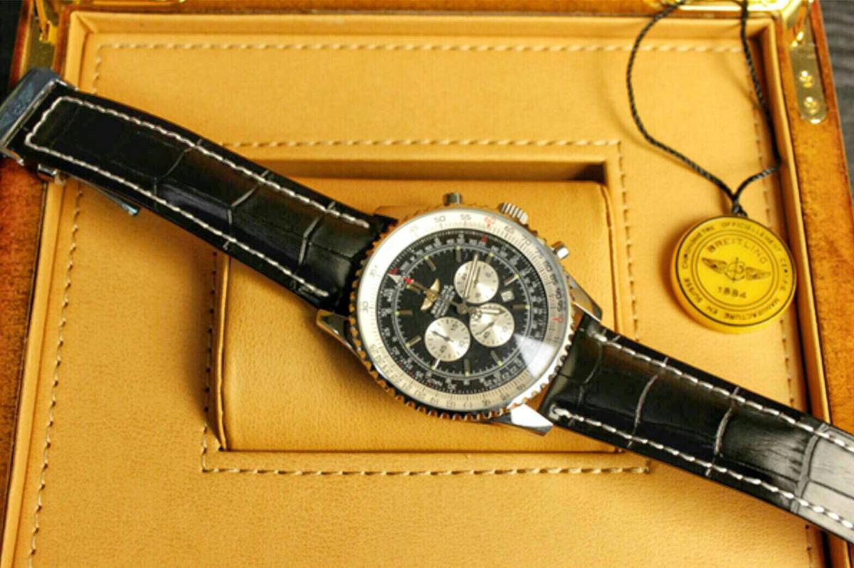 ブライトリング BREITLING 時計 ナビタイマー クロノマット 新品 メンズ 腕時計 腕時計 高級_画像2