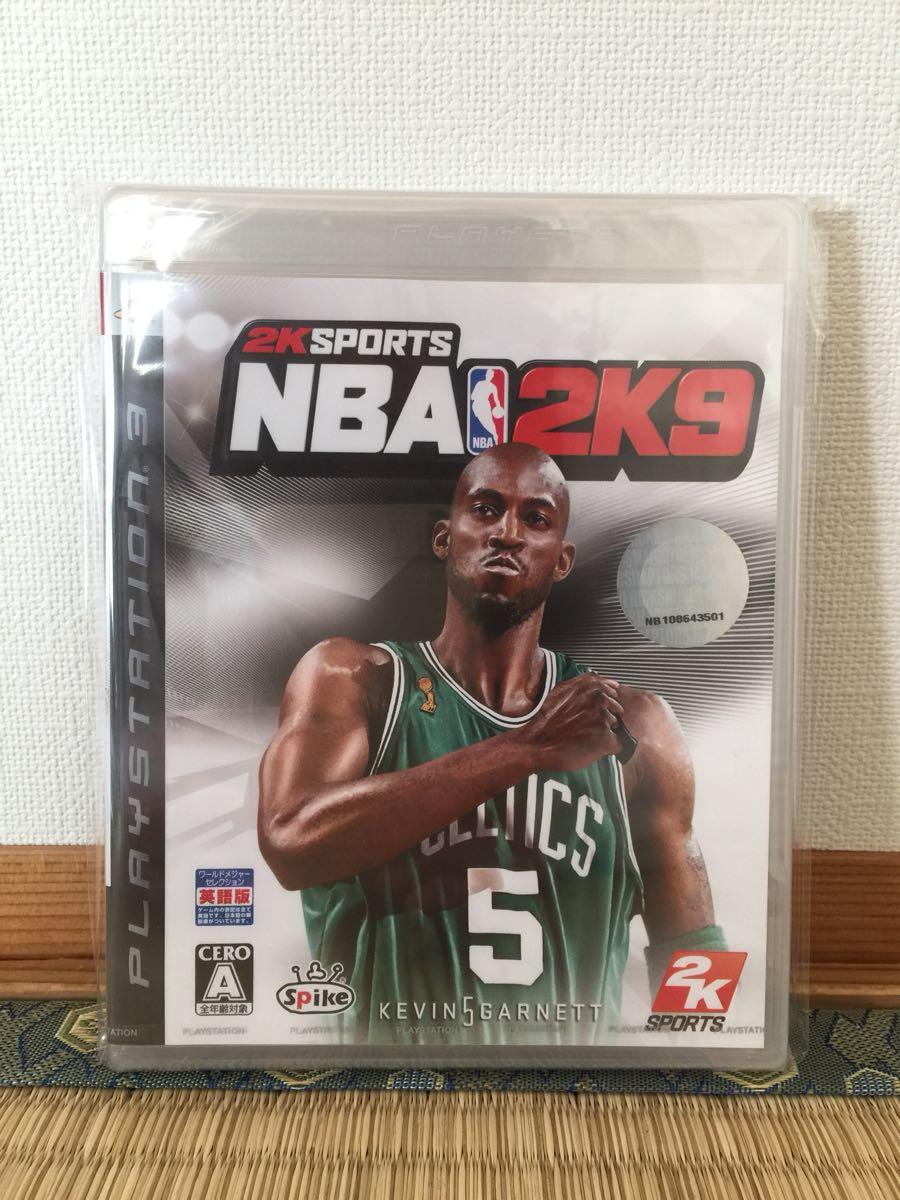 【新品、未開封品】PS3 NBA 2K9 バスケットボール