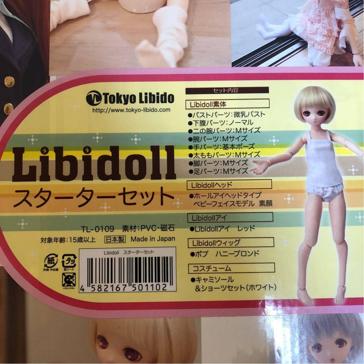 【新品・1円~】リビドール(Libidoll) スターターセット 1/3ドール DD・SDの衣装、ウィッグなども使用可能_画像4