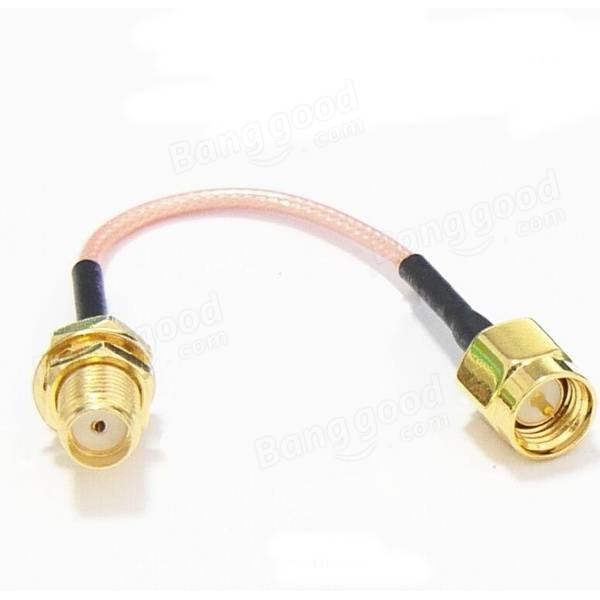 AquaPC★60mm Low Loss Antenna Extension Cord SMA★