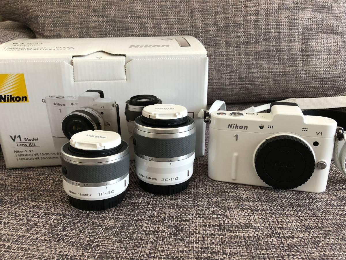 Nikon V1 Lens Kit ホワイト