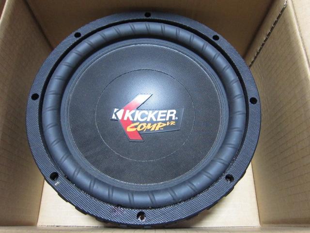 KICKER CVR10 キッカー 10インチウーハー グリル付き中古品_画像2