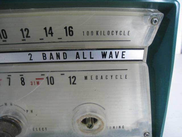 三菱 真空管ラジオ 5P-270 受信して聞けます オシャレ 希少_画像5