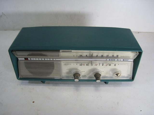 三菱 真空管ラジオ 5P-270 受信して聞けます オシャレ 希少