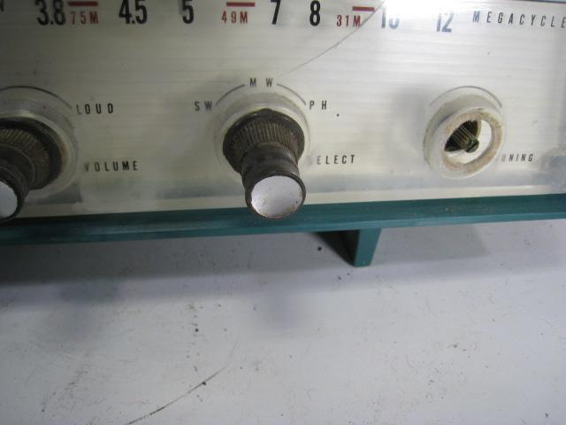 三菱 真空管ラジオ 5P-270 受信して聞けます オシャレ 希少_画像6